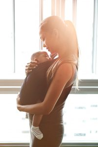 Baby cuddles and the benefits of crying